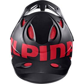 Alpina Fullface - Casque de vélo - rouge/noir